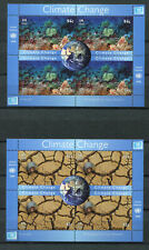 s9695) UNITED NATIONS (NY) MNH** 2008, Climate change 2 s/s
