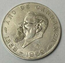 1959-M MEXICO CINCO PESOS SILVER  Mexican 5 Pesos coin