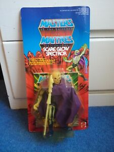 SCARE GLOW - Vintage Masters of the Universe - MOC Unpunched - 1986 - Variant