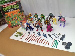 Teenage Mutant Ninja Turtles Toy Figures 1988