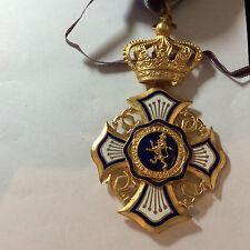 BELGIUM/BELGIAN CONGO-LION ORDER-III CLASS-RARE-medal