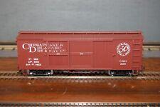 Spectrum Bachmann On30 Chesapeake & Delaware #200 Woodside Box Car