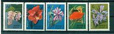 Russie - USSR 1971 - Michel n. 3956/60 - Fleurs du jardin botanique (I)