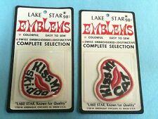 NOS NIP Snomobile Patch Emblems Vintage Ski-doo Cat Lake Star Lot Set (Lt Gr)