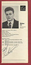 Orig.Autogramme   RALF BÜCHNER (DDR) TURNEN - Olympia Silber / von 1988 !!  TOP
