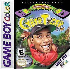 CyberTiger (Nintendo Game Boy Color, 2000) *cartridge Only*