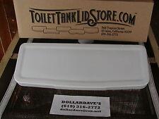 "Crane Antique Toilet Tank Lid  21 3/4"" x 8""  3C"