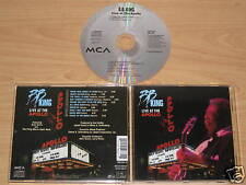 B.B.REY/LIVE AT THE APOLLO (MCA 059 637-2) CD ÁLBUM