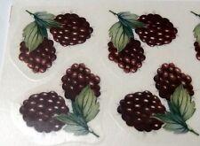 "#2397 Ceramic Decals 10 RED RASBERRIES 1 1/2"""