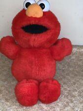 Fisher Price Sesame Street Plush Elmo Tickle Me 2007 32715 tested / works X8