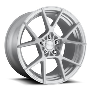 """ROTIFORM KPS 18"""" Staggered 8.5 & 9.5 Silver 5x100"""