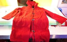 Woolrich Women's size Large Red Wool Parka great shape with tags