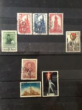 Russia used older collection 1930's five complete sets