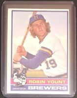 ROBIN YOUNT 1976 TOPPS VINTAGE BASEBALL CARD #316 - BREWERS