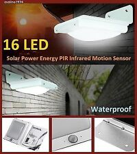 16LED Solar Light,Infrared Motion Sensor,Garden Security Lamp,Outdoor,Waterproof
