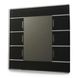 MDT® KNX / EIB Glastaster II Smart 6-fach schwarz mit Temperatursensor