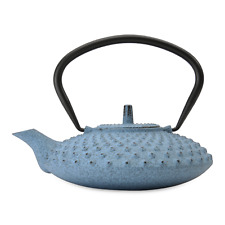 BergHOFF Studio Cast Iron Teapot, Light Blue 0.8L