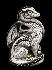 "Windstone Editions ""Winter Ash"" Bantam Dragon Test Paint #1"