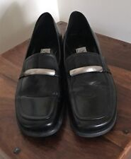 Women's Leather Shoes - Pre-owned - Black - Size 7 - Joanne Mercer
