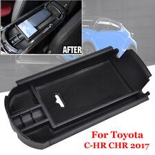 Coche Accesorios Center Apoyabrazos Caja Guantera para Toyota C-Hr Cromo 2017