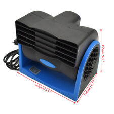 NEW 12V Car Vehicle Truck Cooling Air Fan Speed Adjustable Silent Cooler System