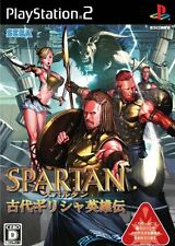 Used PS2 Spartan: Total Warrior   Japan Import (Free Shipping)