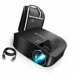 """VANKYO Leisure 510 HD Video Projector with 230"""" Projection Size BLACK"""