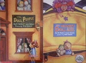 """THE DOLL PEOPLE"" & ""THE MEANEST DOLL IN THE WORLD"" BOOKS BY ANN M. MARTIN"