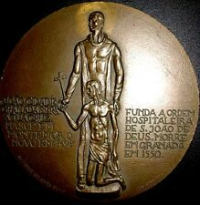 Religious / Saint John of God / Hospital / Bronze Medal / 80 mm / N120