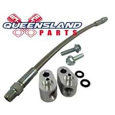 Holden LS1 HSV Throttle Body Bypass Coolant Crossover Kit Stainless Steel, Alloy