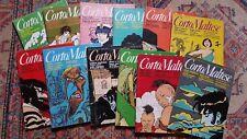 12 RIVISTE CORTO MALTESE ANNO 2 1984 SERIE COMPLETA-FUMETTI PRATT,MANARA,MOEBIUS