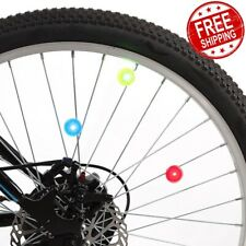 Bike Wheel Lights Night Lamp Round Shape LED Plastic Outdoor Bicycle Accessories