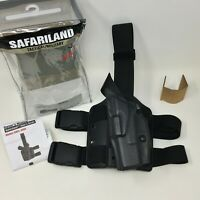 Safariland 6384 ALS OMV Open Top Tactical LH Leg Holster, GLOCK 19 23, LEFT HAND