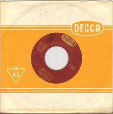 "DRAFI DEUTSCHER & HIS MAGICS ""SHAKE HANDS"" BRITISH BEAT 60'S SP DECCA 19523"