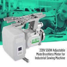 550W 220V Réglable Brushless Moteur Silencieux Pr Machine à coudre Industrielle