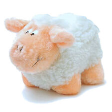 Farm Fleece Sheep SMALL Dog Squeaker Plush Squeaky Dog Puppy Toy