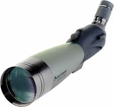 Celestron Ultima 100 Angled Refractor 22-66x Zoom Birdwtching Spotting Scope
