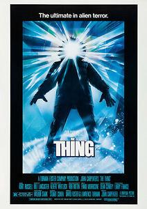 THE THING (1982) Movie Cinema Poster Film Art Print