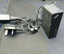 Lenovo ThinkPad USB 3.0 Dock Docking Station Works with all Laptops Port replica