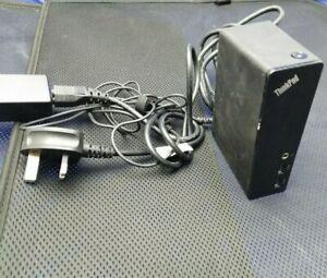 Lenovo ThinkPad USB 3.0 Dock Docking Station Works with all Laptops Port rep 1