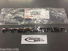 Toyota 05-15 Tacoma PRERUNNER Chrome Tail Gate Emblem Genuine OEM 75474-04010