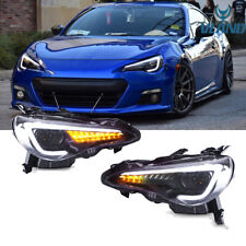 For 2012-2018 TOYOTA 86 GT / SUBARU BRZ LED Dynamic Signal Head Light Lamp