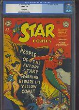 ALL STAR COMICS #49 CGC F/VF: 7.0 OW; scarce!