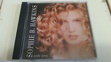 SOPHIE B HAWKINS ONLY LOVE 2 TRACK RARE OOP PROMO CD