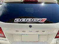 Dodge Decal Sticker Windshield Vinyl Decal Ram 1500 Charger RT Window Graphics