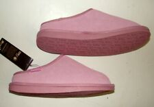 Womens Emu Orchid Pink Wool Slippers sz: 6