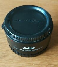 vivitar 2 x auto focus teleconverter 4 element M/AF Minolta Sony Fit camera lens