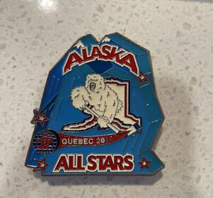 ALASKA ALL STARS Team 2004 Hockey Pin Lapel Pinback