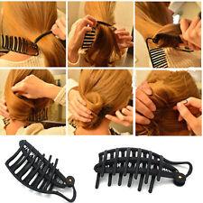 Women Hair Styling Donut Bun Clip Tool French Twist Hairstyle Maker Hair Sticks