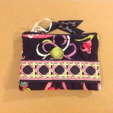 NWT Vera Bradley Coin Purse In Ribbons Wallet Retired Pattern 10136 132 EZ